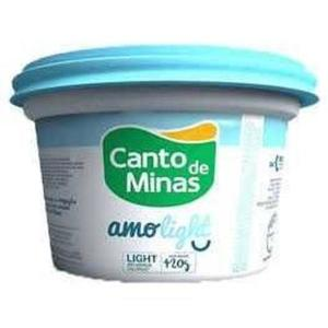 CANTO DE MINAS Requeijão Light 420g