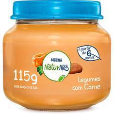 Alimento Infantil 115G Nestlé Carne e Legumes