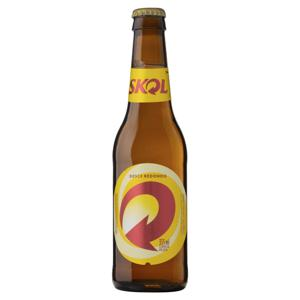 Cerveja Pilsen Skol Garrafa 355ml