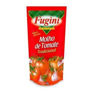 Molho de Tomate FUGINI Sachê Tradicional 340g