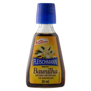 Aroma Artificial Baunilha Fleischmann Frasco 30ml