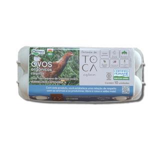 Ovo caipira de galinhas novas ( 10 unidades) Orgânicos