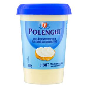 Requeijão Cremoso Light Polenghi Copo 200g