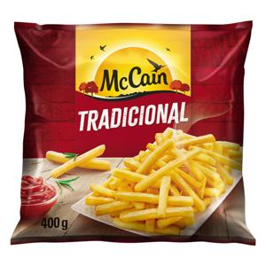 Batata Pré-Frita Tradicional Congelada McCain Pacote 400g
