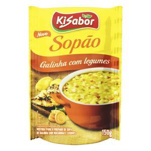 Sopão Galinha com Legumes Kisabor Pacote 150g