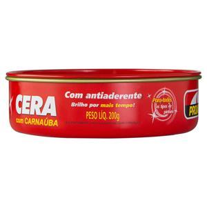 Cera em Pasta Tradicional com Carnaúba Proauto Lata 200g