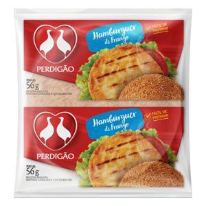 Hambúrguer de Frango Perdigão Pacote 56g
