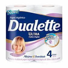 Papel Higiênico Ultra DUALETTE 4X30M
