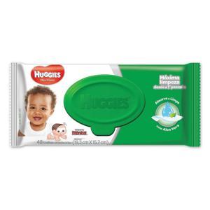 Toalhas Umedecidas c/48un Huggies Classic Max Clean