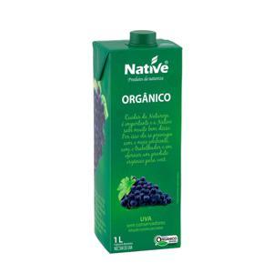 Néctar de uva orgânico Native - 1 L