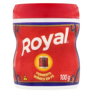 Fermento Químico em Pó Royal Pote 100g