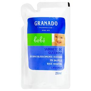 Sabonete Líquido de Glicerina Lavanda Granado Bebê Sachê 250ml Refil