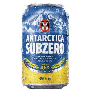 Cerveja Antarctica Pilsen Sub Zero 350Ml Lata