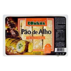 Pão de Alho Tradicional Romena Bandeja 450g