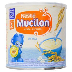 Cereal Infantil Arroz Nestlé Mucilon Lata 400g