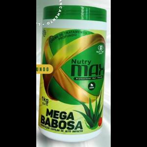 Creme Tratamento Nutry Max 1kg Mega Babosa