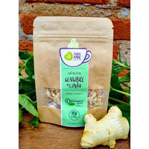Chá orgânico Gengibre & Limão - 15g