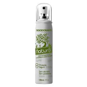 Desodorante Camomila/Erva Cidreira Natural 120ml