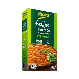 Feijão Carioca Orgânico 250g - Vapza