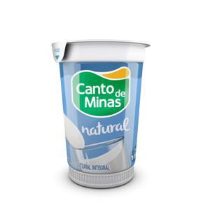 Iogurte Natural CANTO DE MINAS Integral 180g