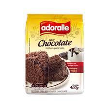 Mistura Bolo Adoralle 400G Chocolate