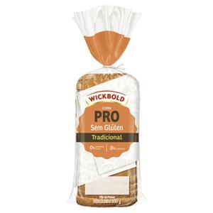 Pão de Forma Tradicional sem Glúten Wickbold Pro Pacote 300g