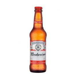 Cerveja Lager Budweiser Garrafa 330ml