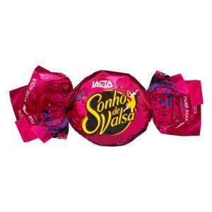 Bombom Wafer com Recheio Cremoso e Cobertura de Chocolate Lacta Sonho de Valsa Pacote 21,5g