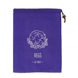 Saco Conservador de Vegetais Roxo - So bags
