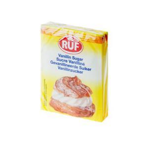 Açúcar Baunilha RUF 80g com 10 Envelopes