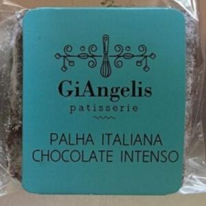Palha Italiana Chocolate Intenso, 4 unidades de 50g - GiAngelis Patisserie