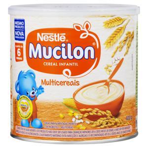Cereal Infantil Multicereais Nestlé Mucilon Lata 400g