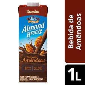 Bebida de Amêndoas Almond Breeze Chocolate 1L