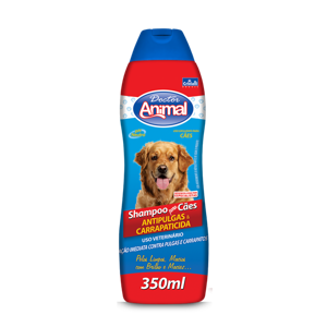 Shampoo Dr. Animal 350Ml Antipulgas
