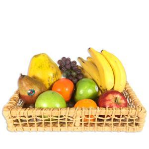 Cesta de Frutas Orgânica (7 Variedades)
