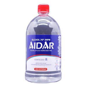 Álcool Líquido AIDAR 70º 1L