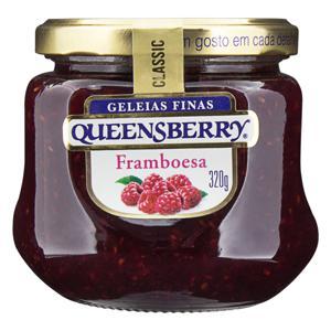 Geleia Framboesa Queensberry Classic Vidro 320g