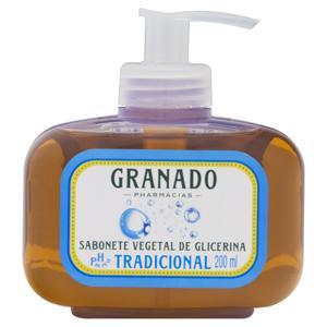 Sabonete Líquido de Glicerina Vegetal Tradicional Granado Frasco 200ml