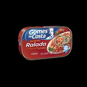 Sardinha Ralada Gomes Molho Tomate 125G