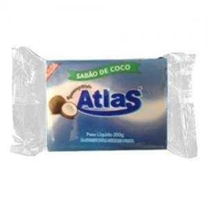Sabão em Barra ATLAS Coco 200g