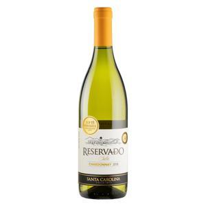 Vinho Chileno Branco Meio Seco Reservado Santa Carolina Chardonnay  750ml