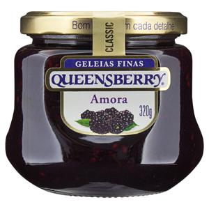 Geleia Amora Queensberry Classic Vidro 320g
