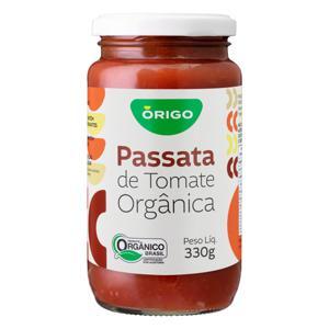 Passata de Tomate Orgânico com Sal (330g)