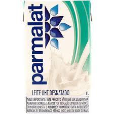 Leite UHT Desnatado Parmalat Garrafa 1l
