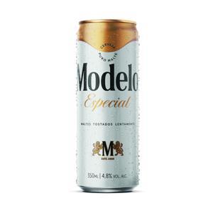 Cerveja Modelo Especial Lata 350Ml