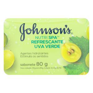 Sabonete 80gr Johnsons Uva verde
