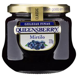 Geleia Mirtilo Queensberry Classic Vidro 320g