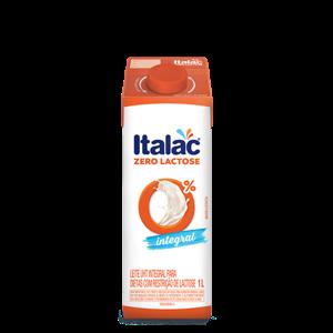 Leite ITALAC Zero Lactose Integral 1L