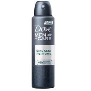 Desodorante Aerosol DOVE Men sem Perfume 89g