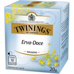 Chá Twinings Erva Doce 10 Envelopes